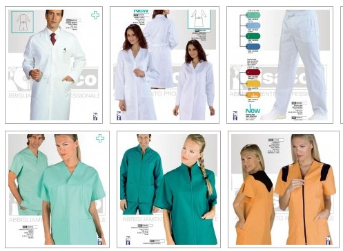 Vendita abbigliamento ospedaliero